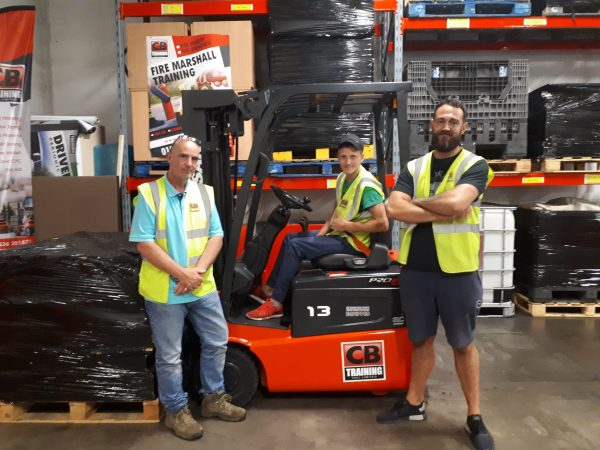 counterbalance forklift training in corby