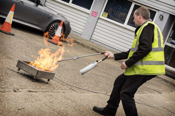 Live Fire Warden, Fire Marshal Training