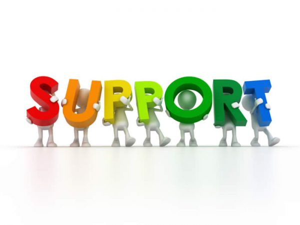 support customers