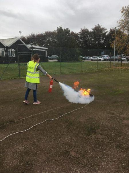 fire warden, fire marshal training, live fire training
