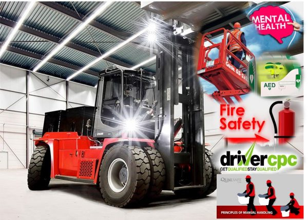 forklift training in corby