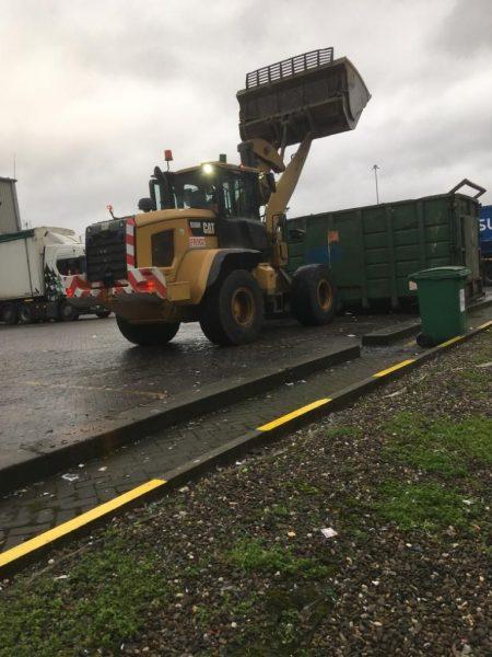 loading shovel training